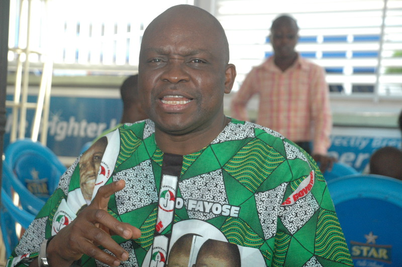 Photo of Fayose Describes Buhari As A Nepotistic President Over World Bank President's Revelation