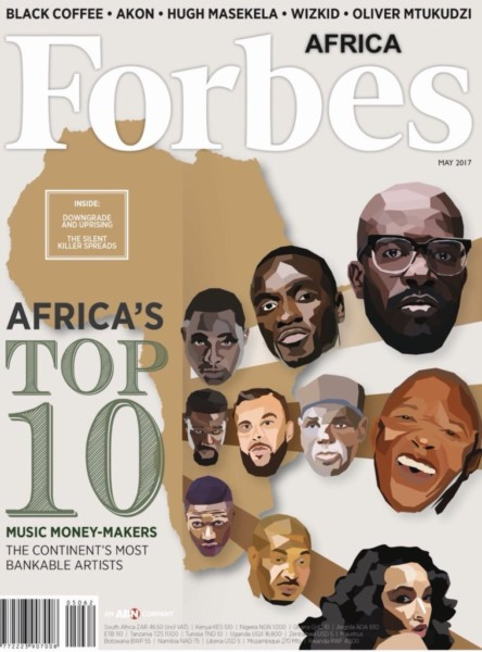 Davido, Wizkid, Don Jazzy & More Named Among Forbes Africa's Top 10 Richest Musicians List
