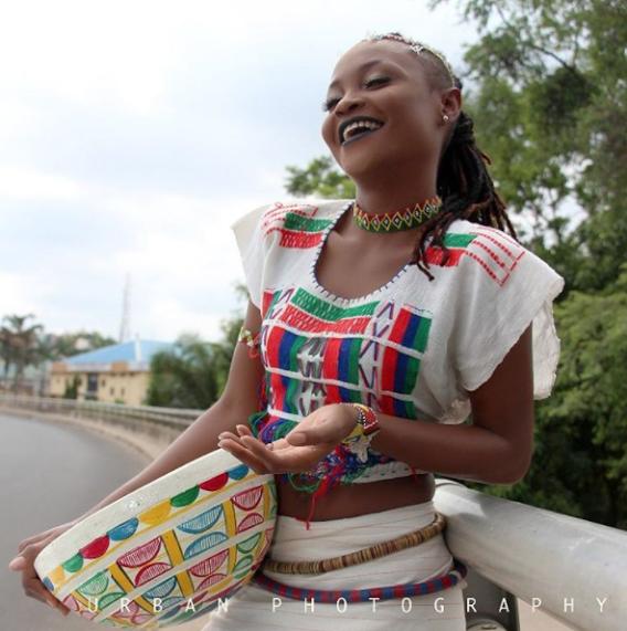 Photo of PHOTOS: Former BBNaija Housemate, Marvis All Smiles As She Rocks Fulani Attire