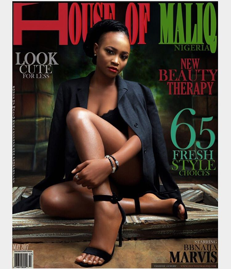Marvis HOM 1 - #BBNaija 2017 Housemates Marvis, ThinTallTony Cover Latest Issue of House of Maliq Magazine