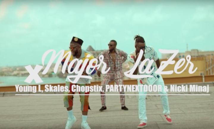 Photo of WATCH: Major Lazer ft. Partynextdoor, Nicki Minaj, Yung L, Skales & Chopstix – 'Run Up' (Afrosmash Remix) (VIDEO)