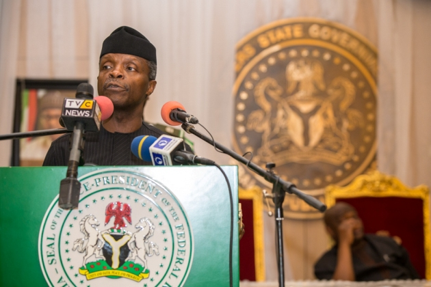 Photo of Corruption Still Remains Our Major Challenge In Nigeria – Osinbajo
