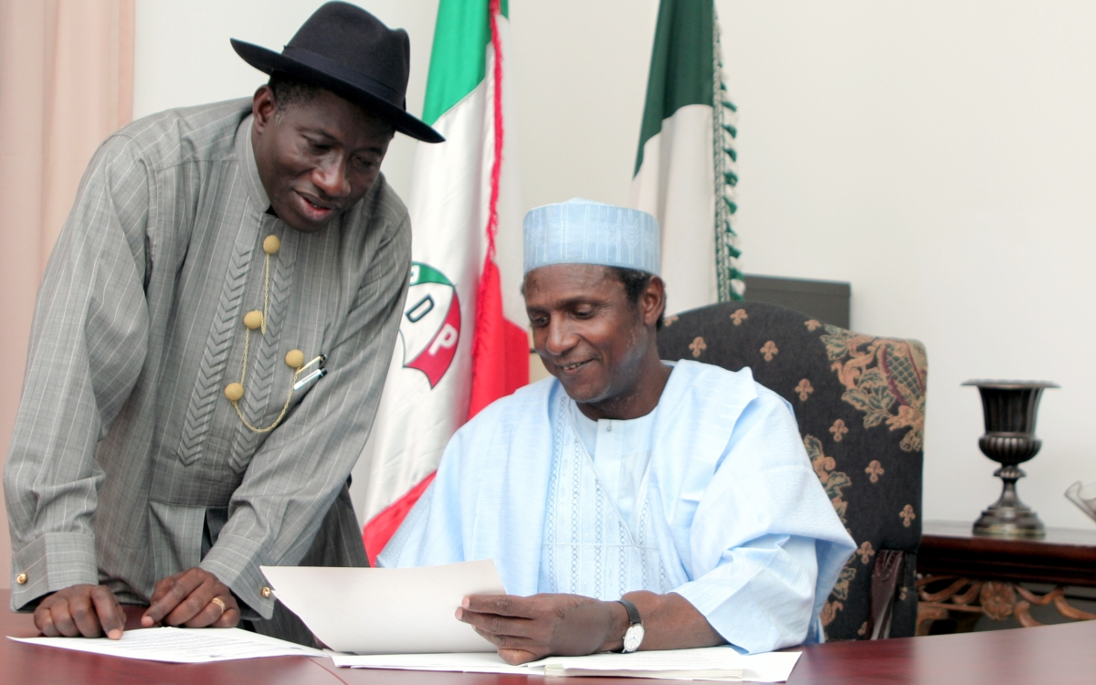Photo of 7 Years After: Goodluck Jonathan Pays Tribute to Umaru Yar'Adua