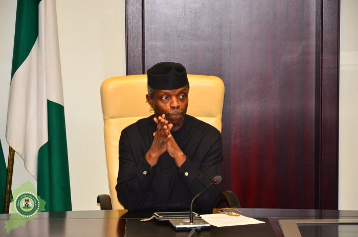 Photo of Acting President Osinbajo Signs Two Bills Into Law to Ease Credit Access for MSMEs