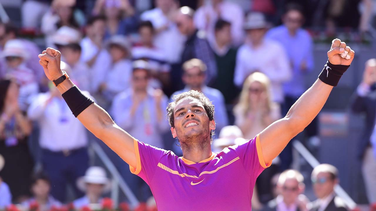 Photo of Rafael Nadal Defeats Dominic Thiem to Win Fifth Madrid Masters