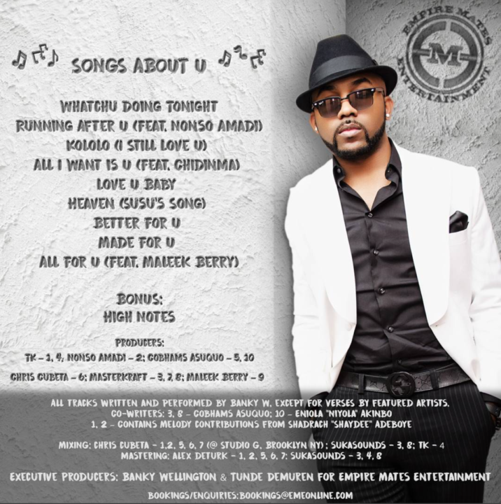 Banky W - Song About U