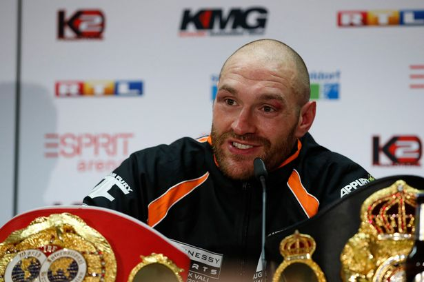 Photo of I'll Beat Anthony Joshua with One Arm Tied Behind My Back – Tyson Fury