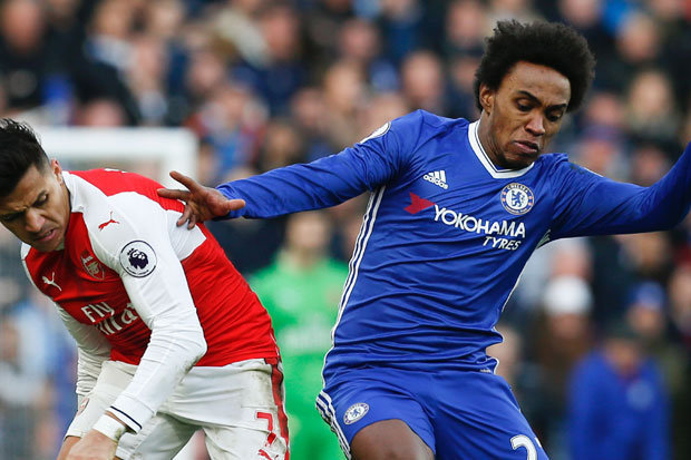 Willian Chelsea 614043 - Willian Pledges Future With Chelsea After Man United Interest