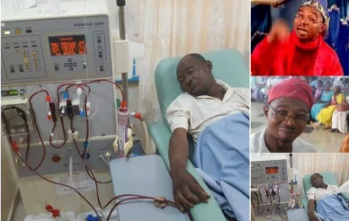 Photo of Veteran Nollywood Actor, Pastor Ajidara Dies After Battling Kidney Failure