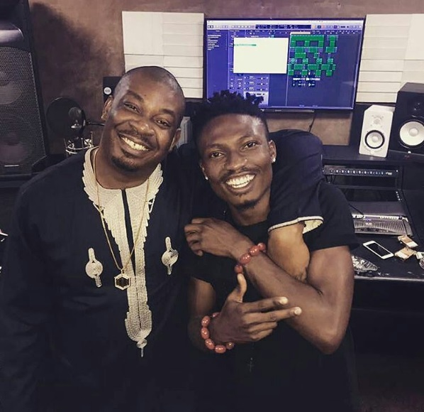 Efe and Don Jazzy Hits Studio Together