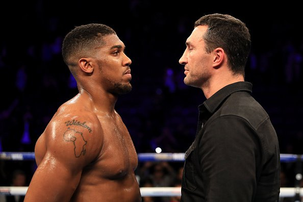 joshua klitschko - Anthony Joshua Rejects Wladimir Klitschko Rematch, Advises Him to Hang Up His Gloves