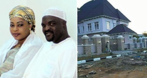 obesere n wife - She Stands By Me At All Times - Obesere Says As He Builds Multi-million Naira Mansion for His Wife in Oyo