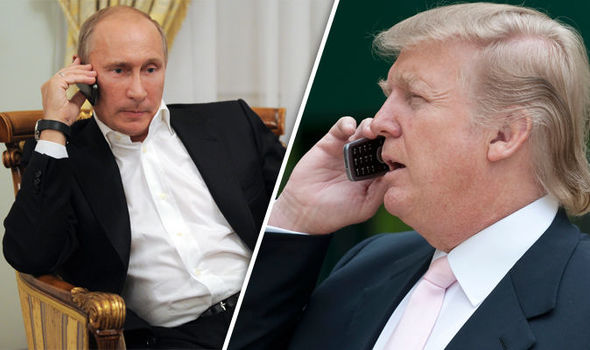 trump putin phone 732356 - Donald Trump to Speak with Vladimir Putin by Phone on Tuesday