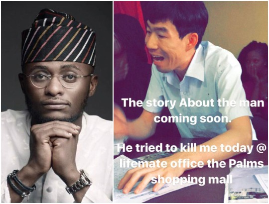 'The Police Released The Chinese Man Who Tried to Stab Me' – Ubi Franklin