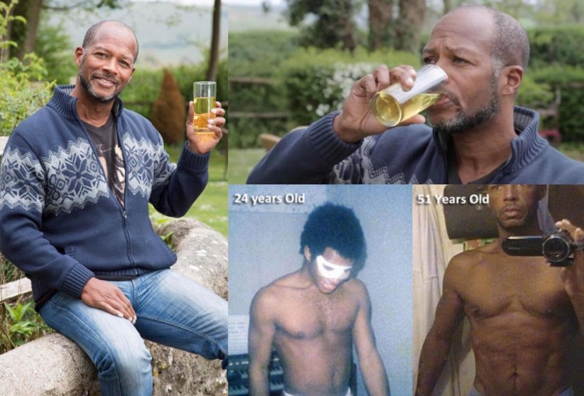 Photo of PHOTOs: Meet The Man Who For The Past Six Years Have Been Drinking His Own Urine Everyday