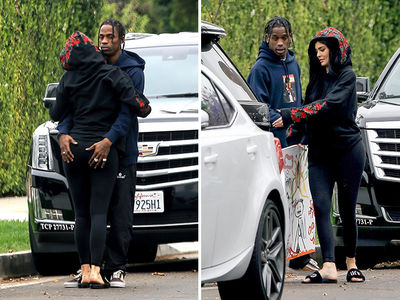 Photo of Travis Scott Grabs Kylie Jenner's A.. – PHOTOs
