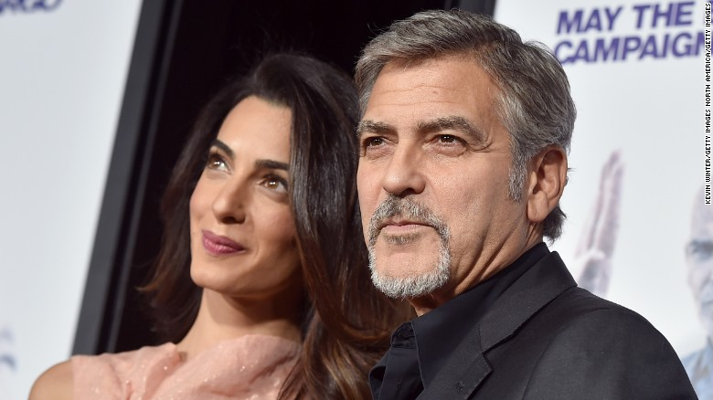 Photo of George And Amal Clooney Welcome Twins