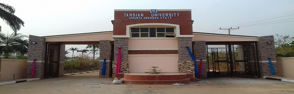 6 0 - Tansian University Admission Screening For 2017/2018 Academic Session Announced