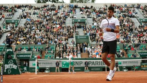 Photo of Novak Djokovic loses to Dominic Thiem In French Open 2017 Quarter-finals