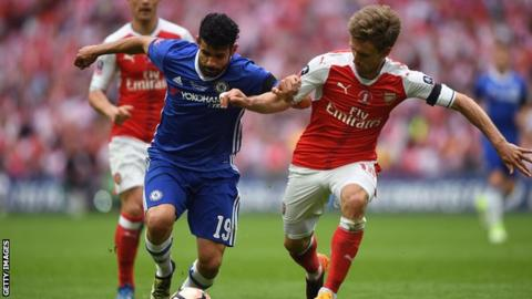 Photo of Conte Told Me I'm Not In His Plans For Chelsea – Diego Costa