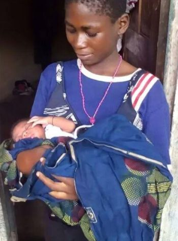 Photo of PHOTOS: 12-year-old Homeless Girl Gives Birth to a Baby at a Dumpsite