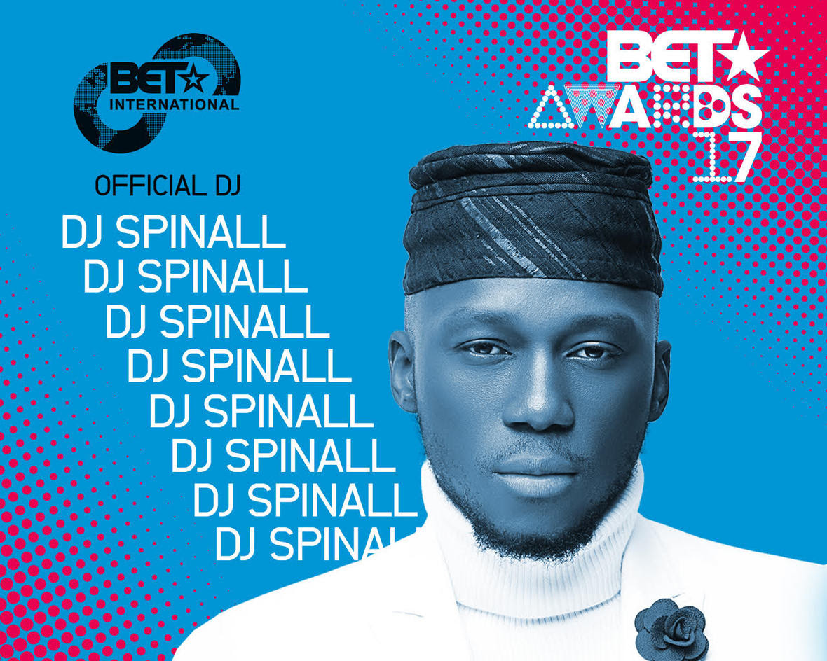 Photo of DJ Spinall Announced As Official DJ for BET International Awards 2017