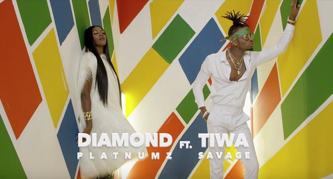 Photo of VIDEO: Diamond Platnumz ft. Tiwa Savage – 'FIRE'