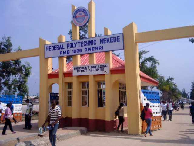 Federal Polytechnic Nekede 2017/2018  PART-TIME NATIONAL DIPLOMA (ND) AND HIGHER NATIONAL DIPLOMA Admission Form Is Out