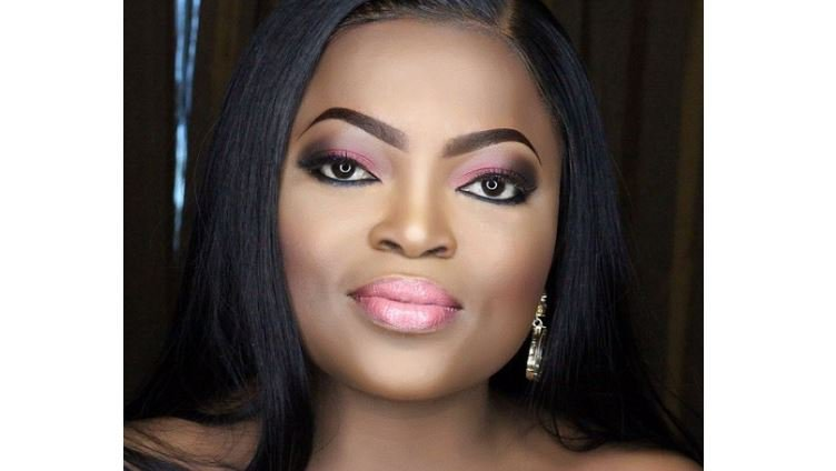 Photo of Moment Funke Akindele was arrested at her residence in Lagos (Video)