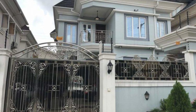 Evans magnificent mansion in Magodo area of Lagos