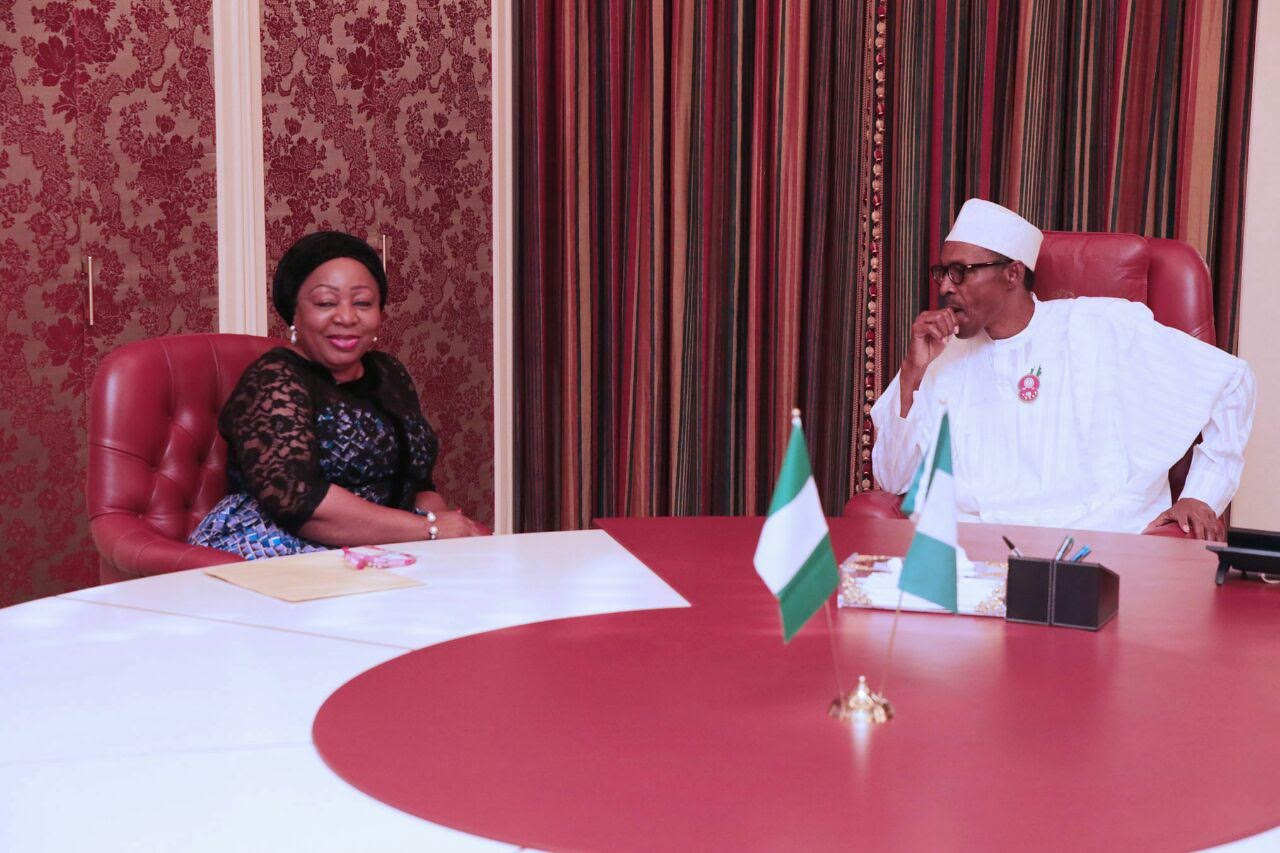 Ita Giwa Buhari - How President Buhari Influenced Me to Join APC - Sen. Florence Ita-Giwa