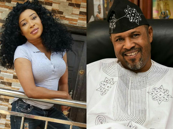 Lizzy Said - 'I Will Never Talk to Saidi Balogun Until Kingdom Come, He Is A Judas' - Lizzy Anjorin