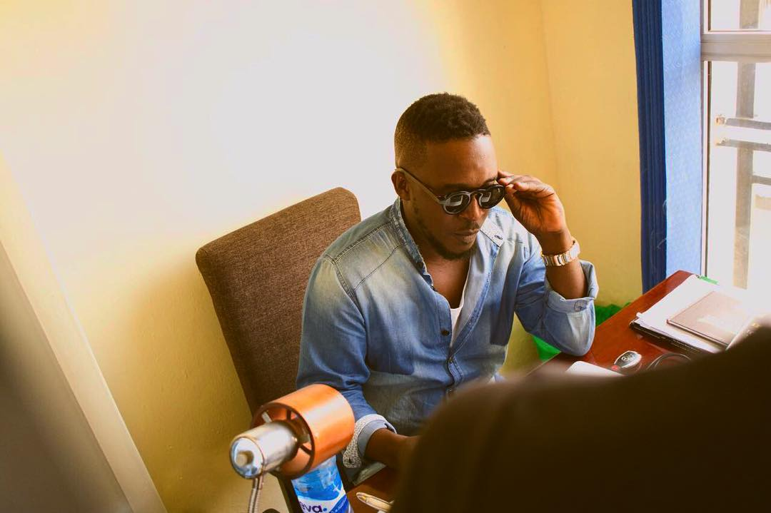 Photo of M.I Abaga Publicly Declares His Love For Rita Dominic, Pleads With Her For A Chance