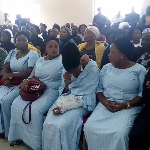Photo of PHOTOS: Moji Olaiya's Burial Ceremony in Lagos