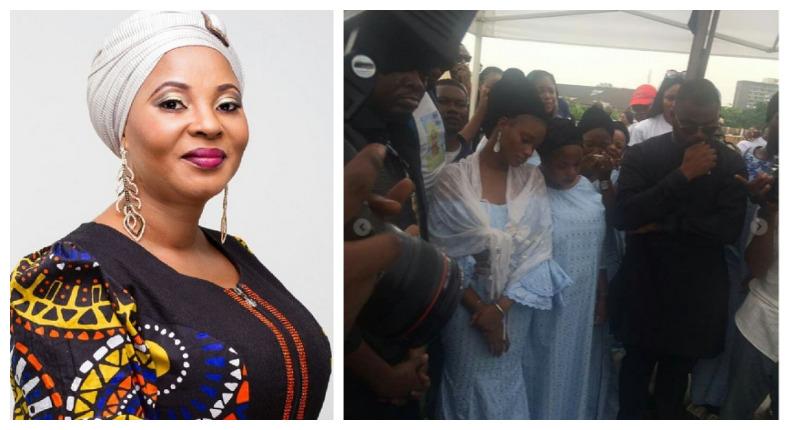 Photo of PHOTOS: Moji Olaiya Finally Laid to Rest at Ebony Vault Burial Ground In Ikoyi, Lagos