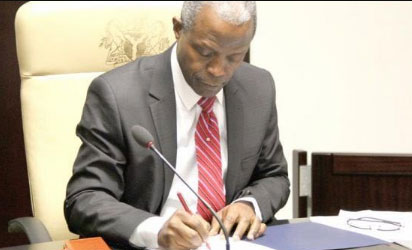 Photo of Osinbajo Approves Appointment of Abdul-Ganiyu Obatoyinbo As New Administrator For Public Service Institute