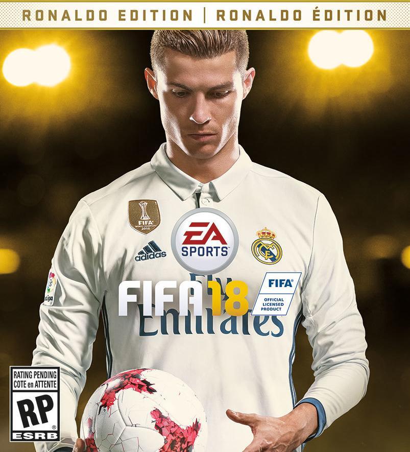 Ronaldo 2018 FIFA - Cristiano Ronaldo Covers 'EA SPORTS FIFA 18'