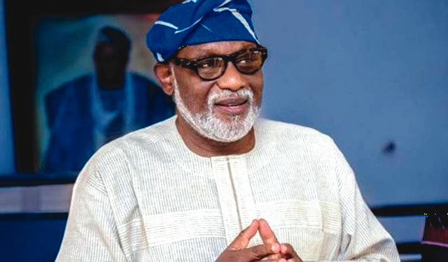 Photo of Rotimi Akeredolu Presents 2017 Appropriation Bill to Ondo Assembly