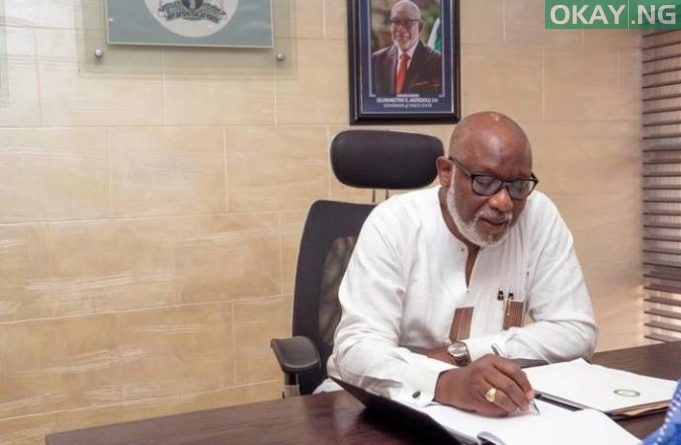 Photo of Ondo: Akeredolu sacks special assistant on political matters