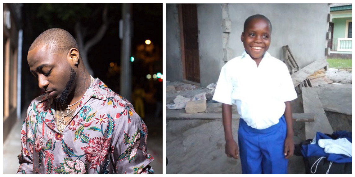 Photo of PHOTOS: Davido Builds House For His Young Fan Who Sang His Hit Single 'IF'
