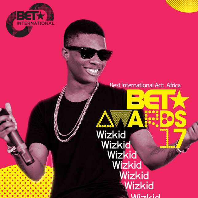 "WIzkid BET 2017 1 - Wizkid Wins ""Best International Act - Africa"" Award at #BETAwards2017"