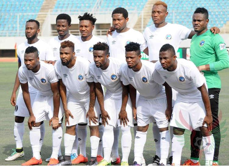enyimba line up - NPFL: Enyimba Defeat Abia Warriors 2-1