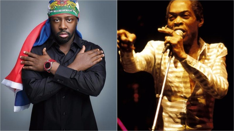 fela kuti wyclef jean 2 - MUSIC: Wyclef Jean – Fela Kuti'