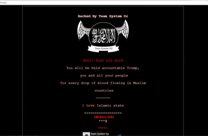 kasich hack isis 690x450 - ISIS Group Hacked Down US States Govt Websites
