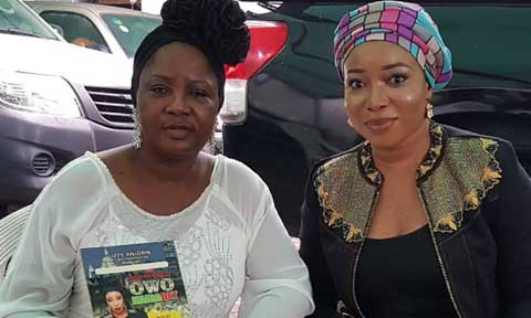Photo of Owo Nairabet Premiere: Liz Anjorin Visits Tinubu's Daughter For Support