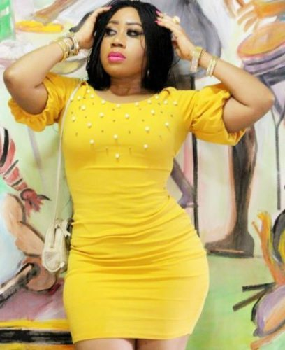 Photo of PHOTOs: Actress Moyo Lawal Shows Off Her Curvaceous Figure