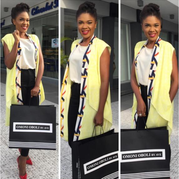 """omoni1 - PHOTOs: Omoni Oboli launches new clothing line """"Omoni Oboli by AVE"""""""