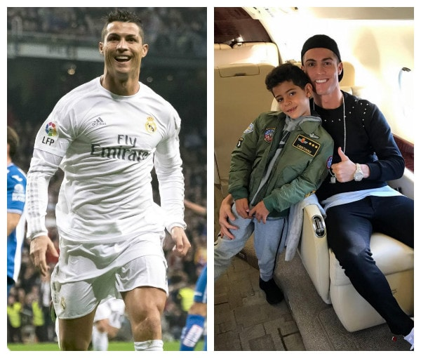Photo of Real Madrid Star, Cristiano Ronaldo Welcomes Twins Named Eva and Mateo