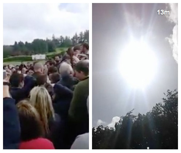 optimized ygqf - In Ireland: Virgin Mary Spotted in The Clouds Above Shrine - PHOTOs & VIDEO