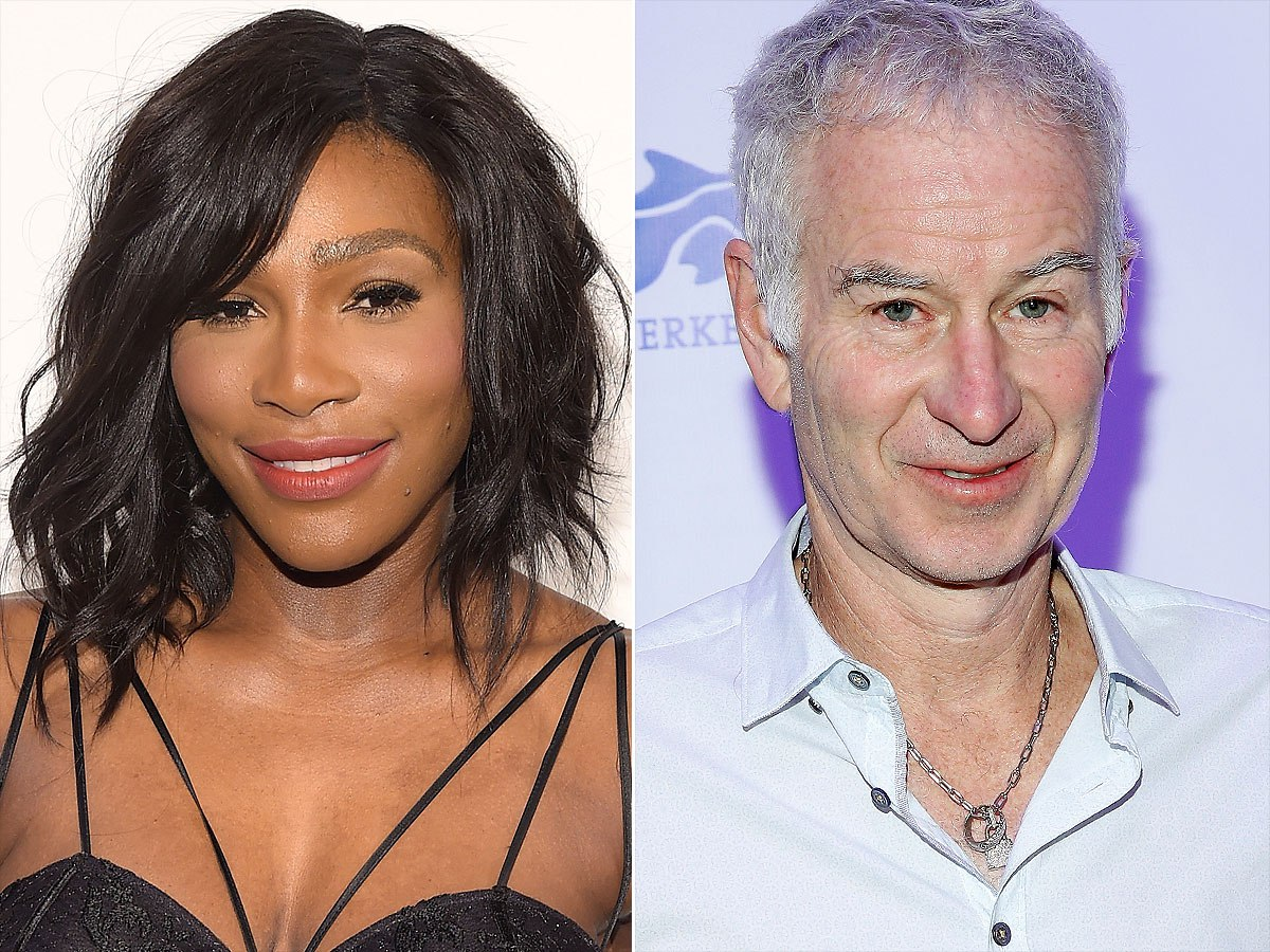 serena williams john mcenroe - 'Respect Me And My Privacy' - Serena Williams Slams John McEnroe
